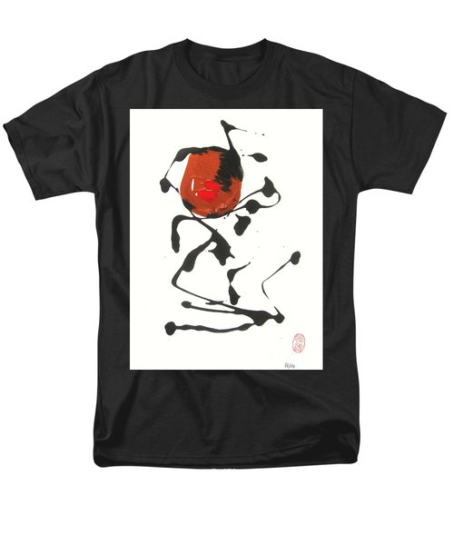 Men's T-Shirt  (Regular Fit) featuring the painting Rushiasurubi No Kuchibiru by Roberto Prusso