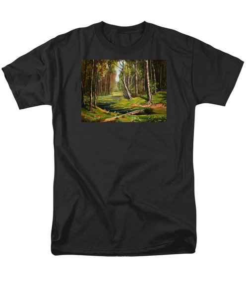 Silence Of The Forest Men's T-Shirt  (Regular Fit) by Kate Black