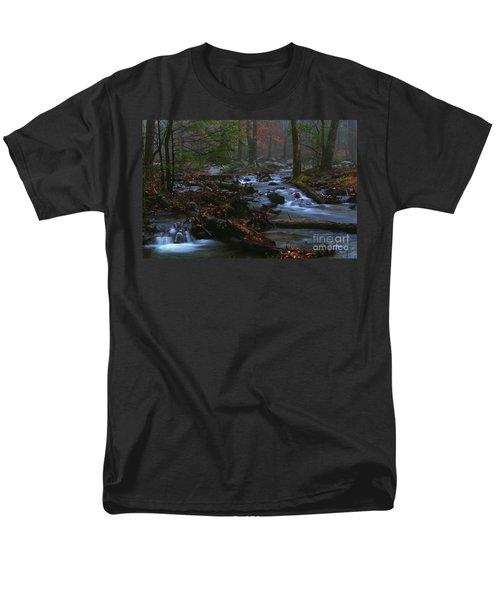 Smoky Mountain Color Men's T-Shirt  (Regular Fit)