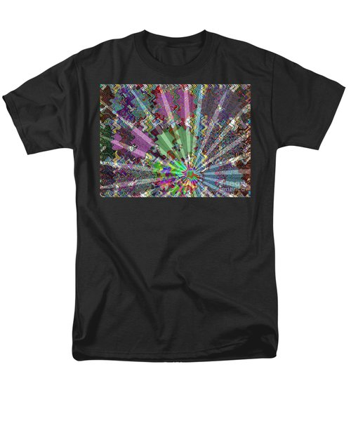Sparkle Focus Graphic Chakra Mandala By Navinjoshi At Fineartamerica.com Fineart Posters N Pod Gifts Men's T-Shirt  (Regular Fit) by Navin Joshi
