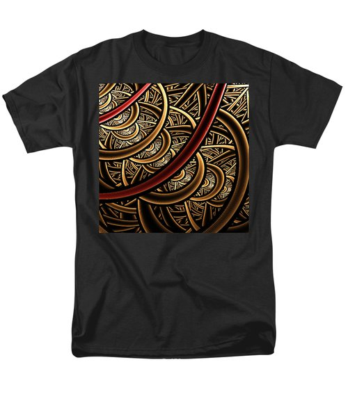 Men's T-Shirt  (Regular Fit) featuring the digital art Stairways by Ester  Rogers
