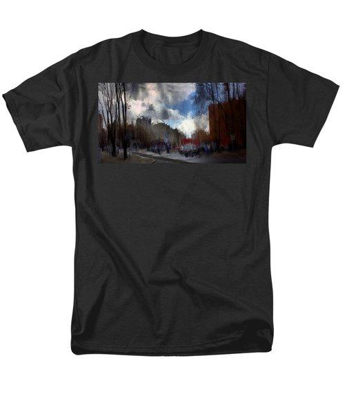 Streetlights 2 Men's T-Shirt  (Regular Fit) by Terence Morrissey