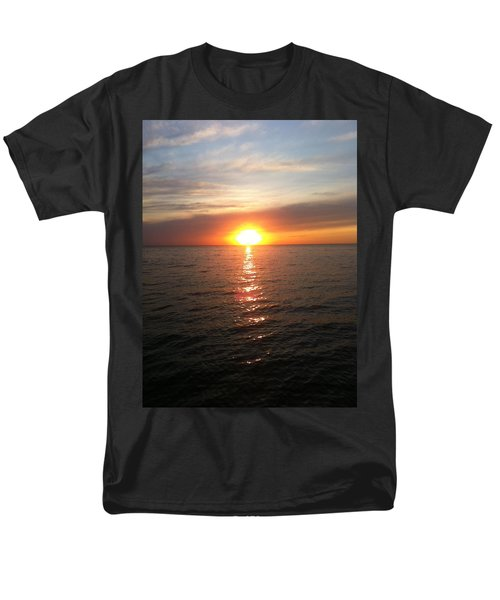 Sunset On The Bay Men's T-Shirt  (Regular Fit) by Tiffany Erdman