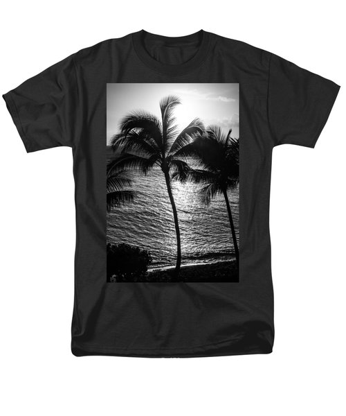 Sunset Silhouette Men's T-Shirt  (Regular Fit) by Colleen Coccia