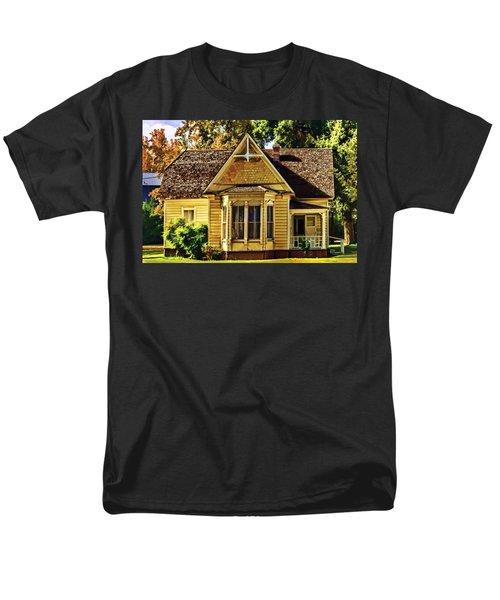 Men's T-Shirt  (Regular Fit) featuring the painting Sweet Home by Muhie Kanawati