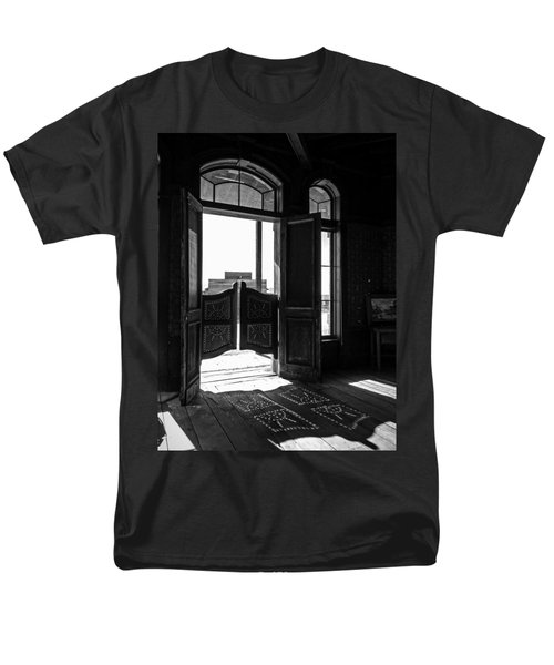 Swinging Doors Men's T-Shirt  (Regular Fit) by Lucinda Walter