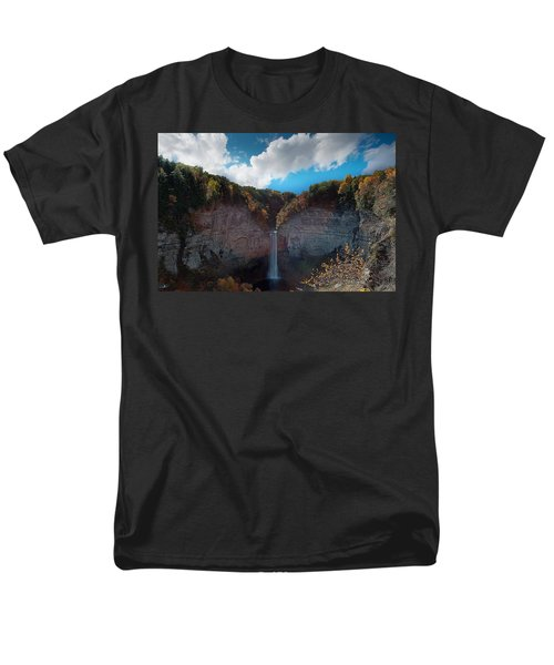 Men's T-Shirt  (Regular Fit) featuring the photograph Taughannock Falls Ithaca New York by Paul Ge