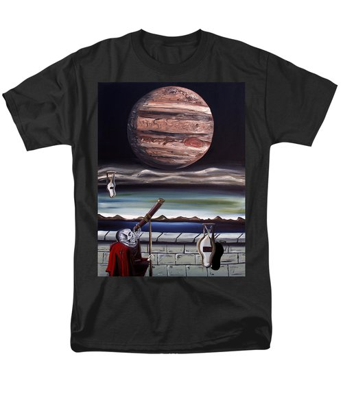 The Eternal Staring Contest Men's T-Shirt  (Regular Fit) by Ryan Demaree