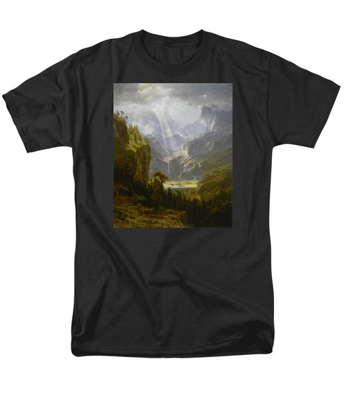 The Rocky Mountains Lander's Peak Men's T-Shirt  (Regular Fit) by Celestial Images