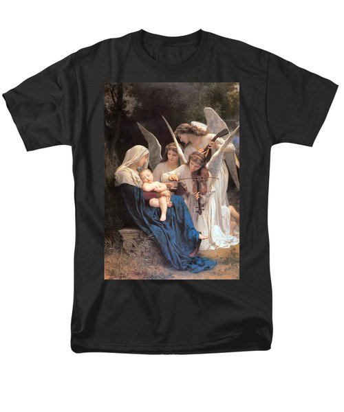 The Virgin With Angels Men's T-Shirt  (Regular Fit)