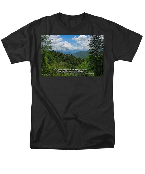 Men's T-Shirt  (Regular Fit) featuring the photograph Things Above by Larry Bishop