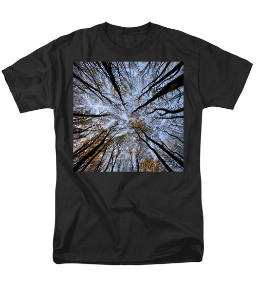 Tall Trees Men's T-Shirt  (Regular Fit) by Mike Santis