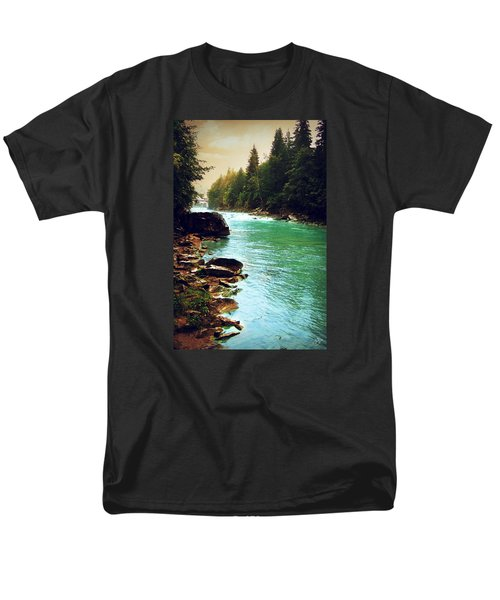 Ukrainian River Men's T-Shirt  (Regular Fit) by Kate Black