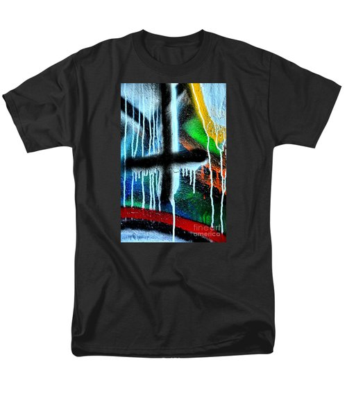 Men's T-Shirt  (Regular Fit) featuring the photograph Urban Abstract 9 by Newel Hunter
