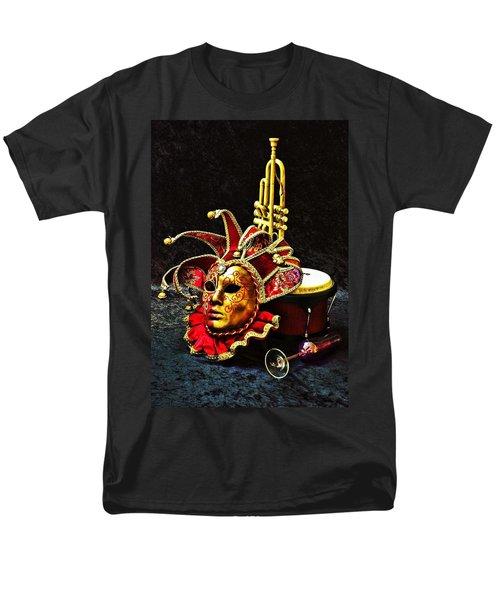 Men's T-Shirt  (Regular Fit) featuring the photograph Venitian Joker 2 by Elf Evans