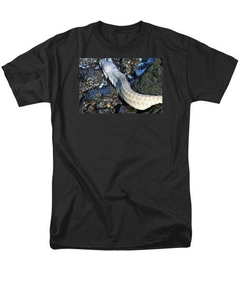 White Moray Eel Men's T-Shirt  (Regular Fit) by Lehua Pekelo-Stearns