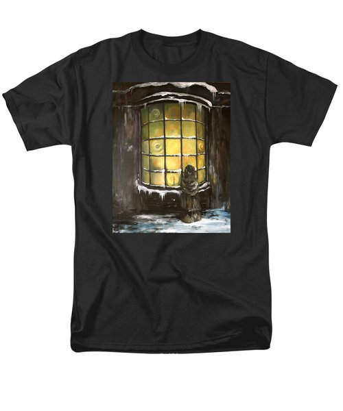 Men's T-Shirt  (Regular Fit) featuring the painting Ye Old Shoppe  by Jean Walker