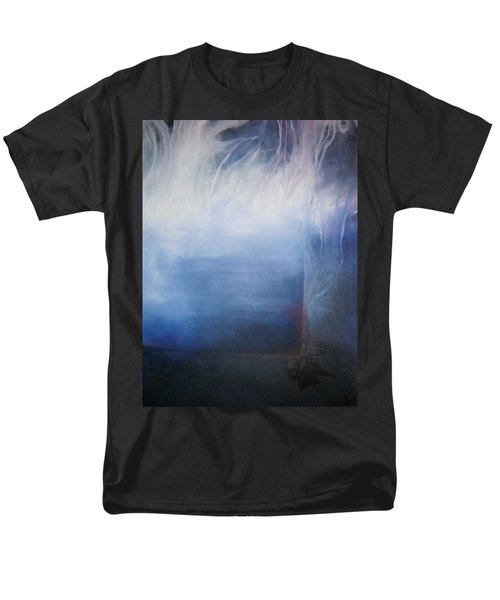 Men's T-Shirt  (Regular Fit) featuring the painting YOD by Carrie Maurer