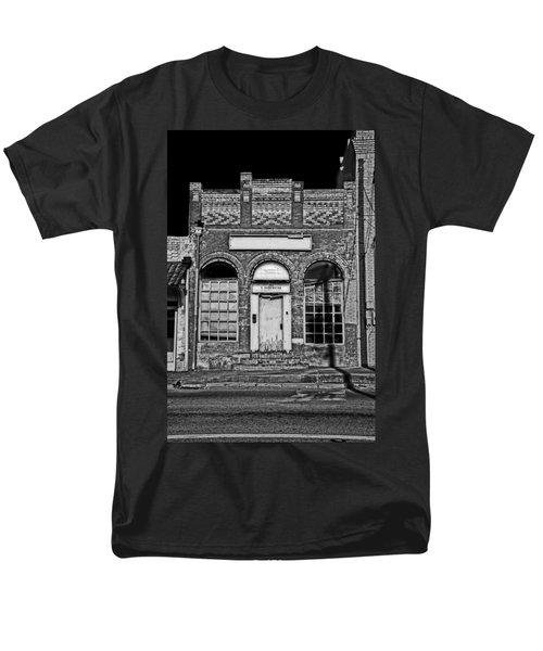 104 South Washington Men's T-Shirt  (Regular Fit) by Mark Alder