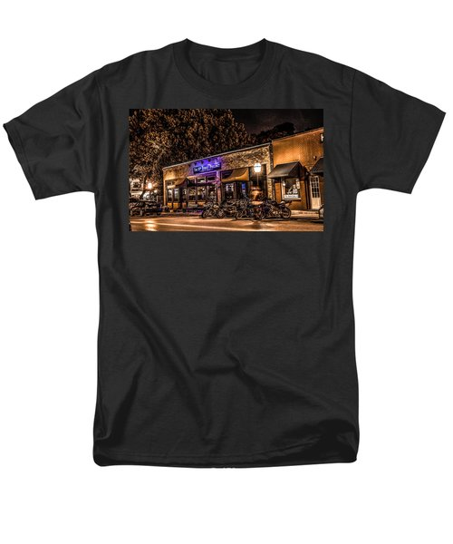 11th St. Precinct Men's T-Shirt  (Regular Fit) by Ray Congrove