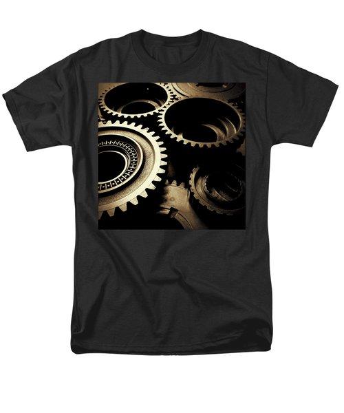 Cogs Men's T-Shirt  (Regular Fit) by Les Cunliffe