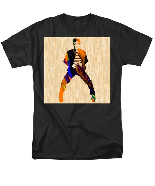 Elvis Presley Men's T-Shirt  (Regular Fit) by Marvin Blaine