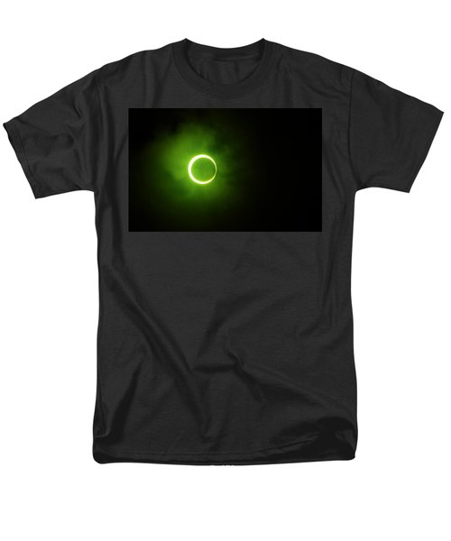 15 January 2010 Solar Eclipse Maldives Men's T-Shirt  (Regular Fit) by Jenny Rainbow