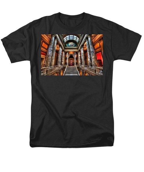 Minnesota State Capitol  Men's T-Shirt  (Regular Fit) by Amanda Stadther