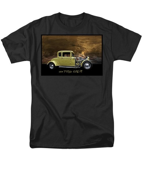 Men's T-Shirt  (Regular Fit) featuring the digital art 1930 Ford Coupe by Richard Farrington