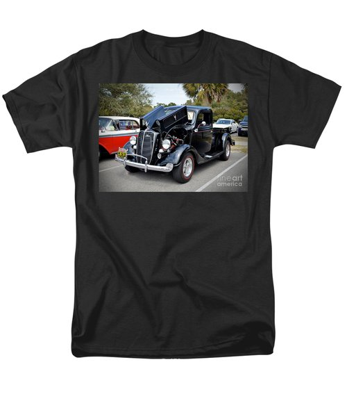 Men's T-Shirt  (Regular Fit) featuring the photograph 1937 Ford Pick Up by Kathy Baccari