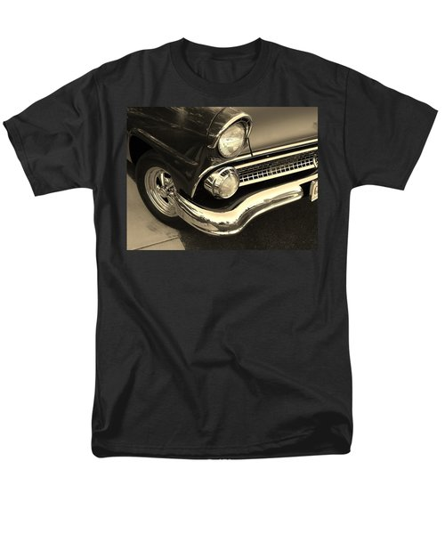 Men's T-Shirt  (Regular Fit) featuring the photograph 1955 Ford Crown Victoria by Jean Goodwin Brooks