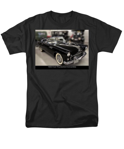 1955 Ford Thunderbird Convertible Men's T-Shirt  (Regular Fit) by Chris Flees