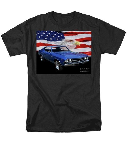 1969 Chevelle Tribute Men's T-Shirt  (Regular Fit) by Peter Piatt