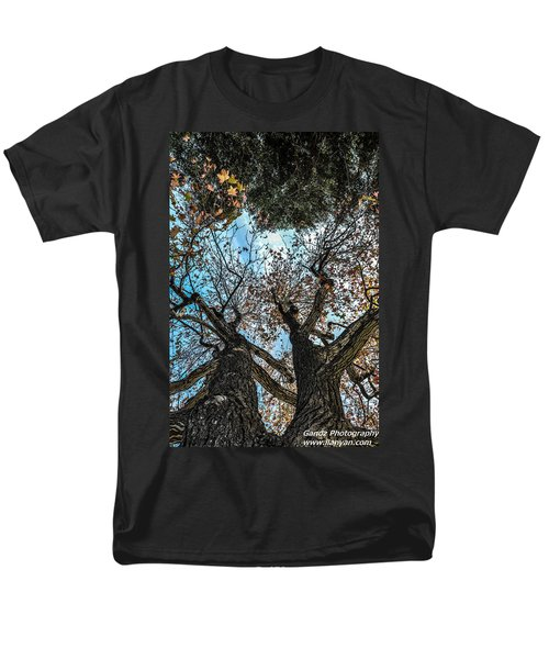 Men's T-Shirt  (Regular Fit) featuring the photograph 1st Tree by Gandz Photography
