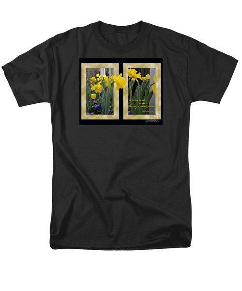 Men's T-Shirt  (Regular Fit) featuring the photograph A Merry Heart by Larry Bishop
