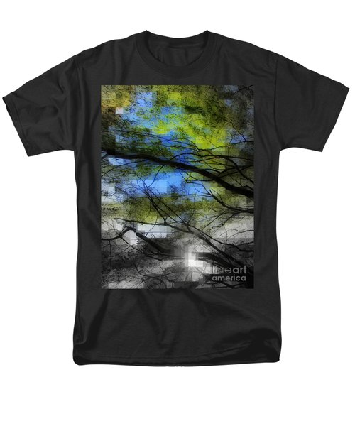 Abstract Forest Men's T-Shirt  (Regular Fit) by France Laliberte