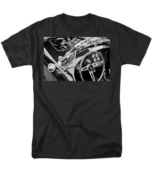 Ac Shelby Cobra Engine - Steering Wheel Men's T-Shirt  (Regular Fit) by Jill Reger