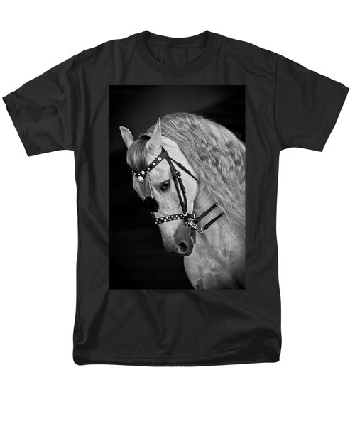Men's T-Shirt  (Regular Fit) featuring the photograph Andalusian D9098 by Wes and Dotty Weber