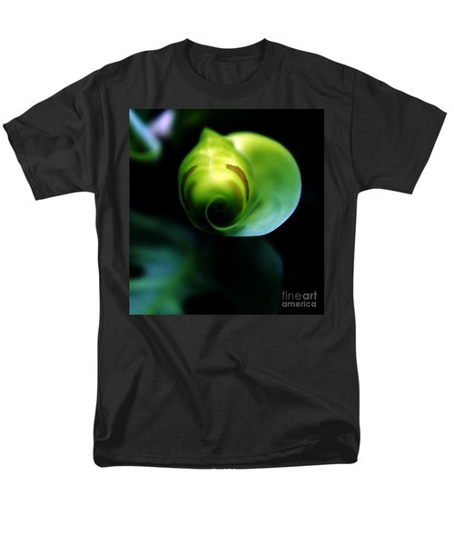 Men's T-Shirt  (Regular Fit) featuring the photograph Birth Of A Leaf by Lilliana Mendez