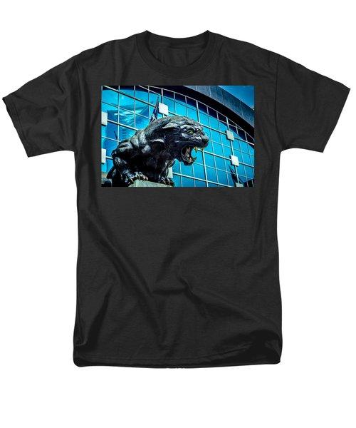 Black Panther Statue Men's T-Shirt  (Regular Fit) by Alex Grichenko