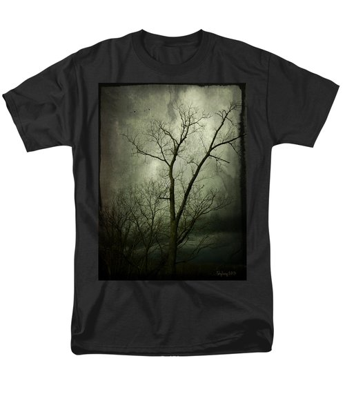 Men's T-Shirt  (Regular Fit) featuring the photograph Bleak by Cynthia Lassiter