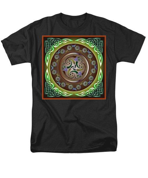 Celtic Pattern Men's T-Shirt  (Regular Fit) by Ireland Calling