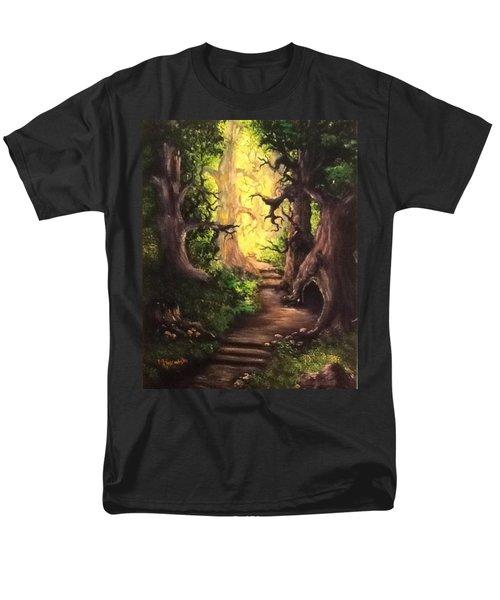 Druid Forest Men's T-Shirt  (Regular Fit) by Megan Walsh