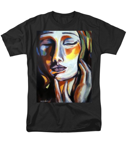 Men's T-Shirt  (Regular Fit) featuring the painting Emotion by Helena Wierzbicki