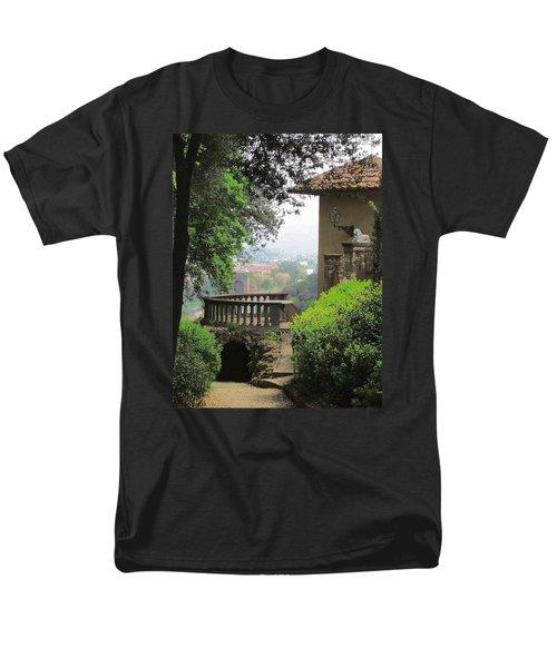 Garden View Men's T-Shirt  (Regular Fit)