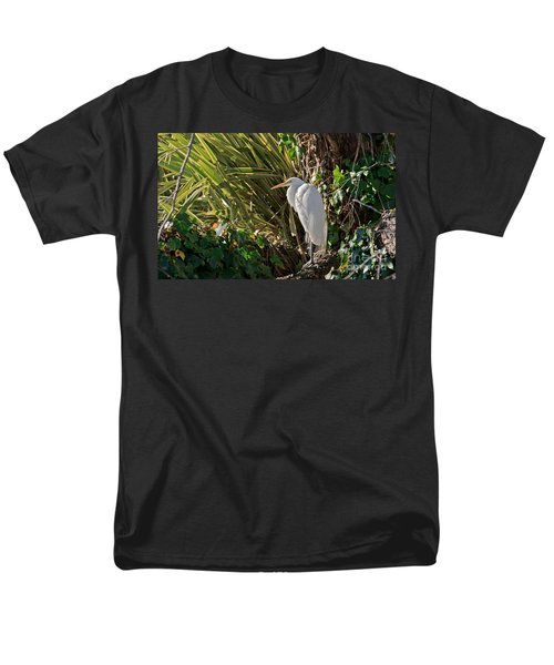 Men's T-Shirt  (Regular Fit) featuring the photograph Great Egret by Kate Brown