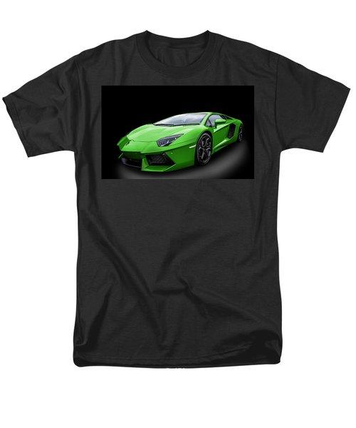 Green Aventador Men's T-Shirt  (Regular Fit) by Matt Malloy