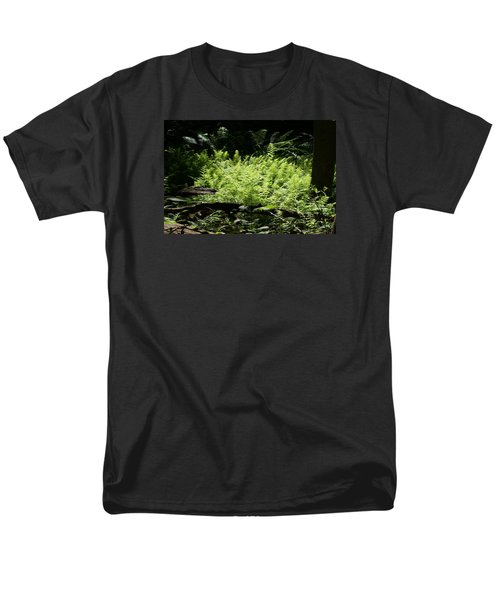 Men's T-Shirt  (Regular Fit) featuring the photograph In The Woods by Heidi Poulin