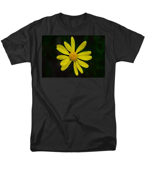 Men's T-Shirt  (Regular Fit) featuring the photograph Isolated Daisy by Debra Martz