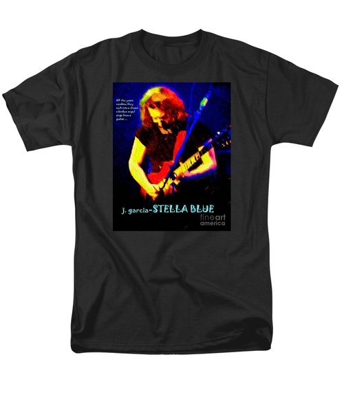 Men's T-Shirt  (Regular Fit) featuring the photograph Dust Off Those Rusty Strings by Susan Carella